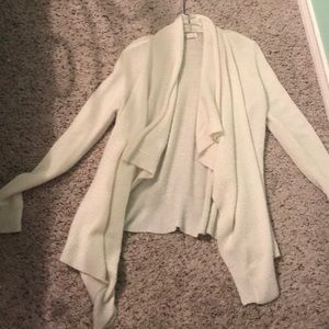 White cardigan unworn size medium